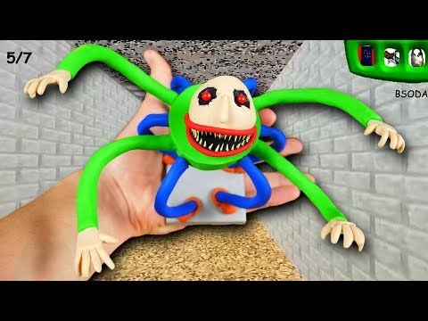MAKING MONSTER BALDI in POLYMER CLAY!???? Baldis Basics In Education And Learning