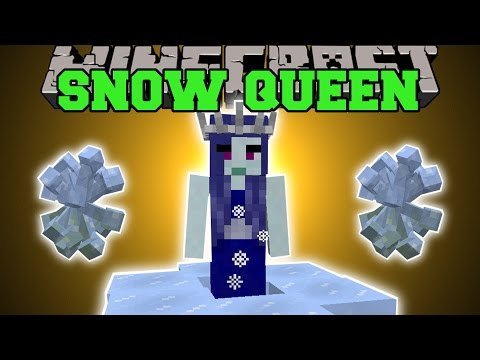 Minecraft: QUEEN OF SNOW (AURORA PALACE, LAND OF GIANTS MOBS, & MORE!) Mod Showcase