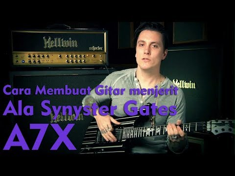 Teknik Gitar Dive Bomb (Cara Membuat Gitar Menjerit) Ala Synyster Gates Avenged Sevenfold