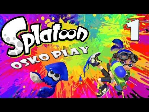 Let's Play Splatoon (Story/german) Part 1: Der Elektro-Wels von Inkopolis