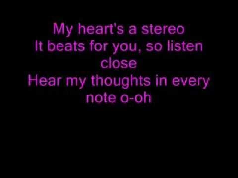 Mattyb and Skyler Stecker Stereo Hearts (Lyrics)