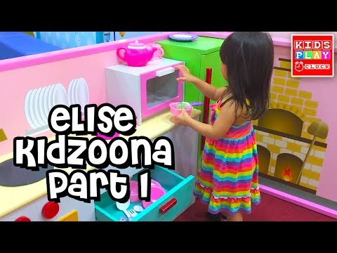 The Farmer in the Dell - Elise at Kidzoona Part1   Nursery Rhymes   FAMILY FUN Kids Play O'Clock