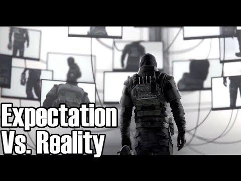 DLC Operator Videos Vs. Reality 2 - Rainbow Six Siege