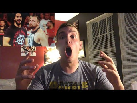 DEAN AMBROSE RETURNS ON MONDAY NIGHT RAW LIVE REACTION!! 8/13/18