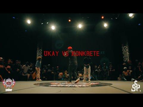 Ukay vs Konkrete | Exhibition Battle | EBS KRUMP WORLD CHAMPIONSHIP 2016