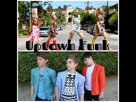Johnny Orlando vs. The Haschak Sisters - Uptown Funk (Mark Ronson ft. Bruno Mars)