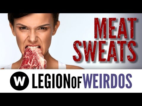 Meat Sweats - Hyperhidrosis When You Eat Steak, Chicken, or Pork - Are Meat Sweats Real?