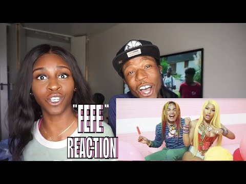 "6ix9ine, Nicki Minaj, Murda Beatz - ""FEFE"" (Official Music Video) [REACTION]"
