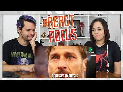 REACT ♫ ADEUS, LENDAS (Totti, Xabi Alonso, Lahm...) | Paródia Hear Me Now (FutParódias)