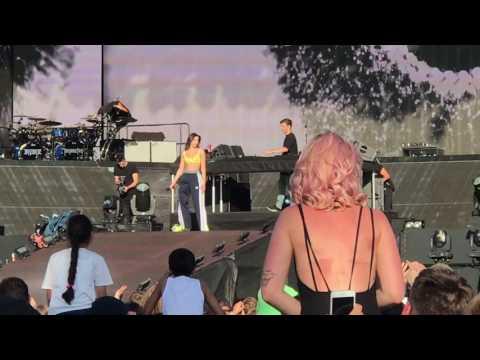Martin Garrix w/ Dua Lipa - Scared To Be Lonely - July 2, 2017 - Hyde Park - London