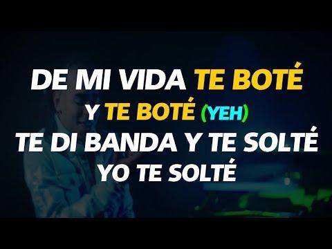 Te Bote Remix (LETRA) - Bad Bunny, Ozuna, Nicky Jam, Darell, Casper, Nio Garcia