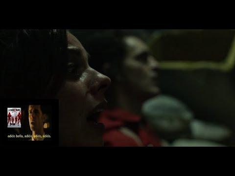 LA MEJOR ESCENA DE LA CASA DE PAPEL + Bella Ciao (LETRA en ESPAÑOL) x Berlin ft. El profesor