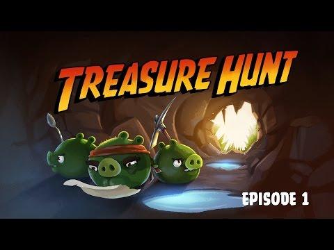 Treasure Hunt | Angry Birds Toons - Ep. 1, S 2