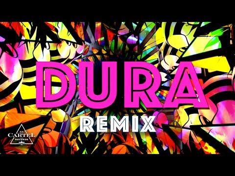 Daddy Yankee | Dura (REMIX) ft. Bad Bunny, Natti Natasha & Becky G (Lyric Video)