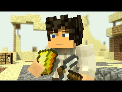 """♫ """"GOLD"""" - TOP MINECRAFT PARODY OF """"7 YEARS"""" BY LUKAS GRAHAM ♬"""