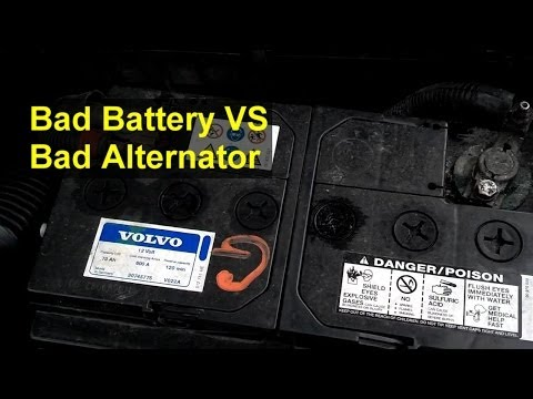 Bad battery or bad alternator, how to tell the difference (brief version) - Auto Information Series