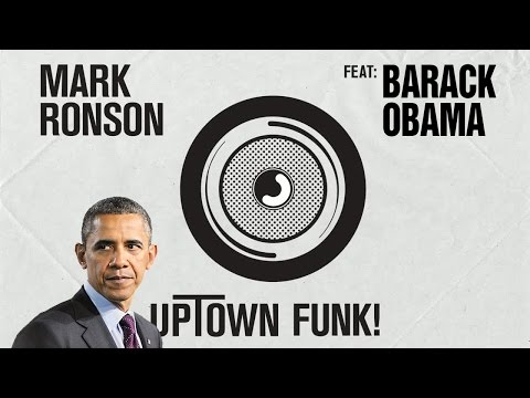 Barack Obama Singing Uptown Funk by Mark Ronson (ft. Bruno Mars)