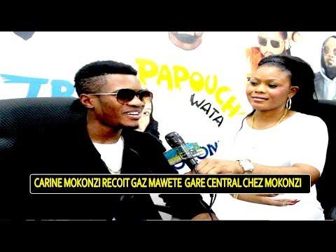 Honorable Carine Mokonzi Reçoit Gaz Mawete Super Stars Gare Centrale Chez Mokonzi