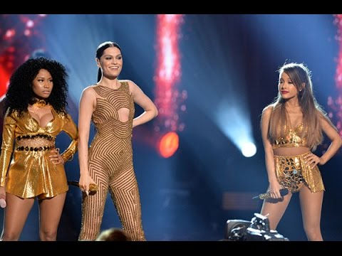 Jessie J ft. Ariana Grande & Nicki Minaj - Bang Bang AMA's 2014