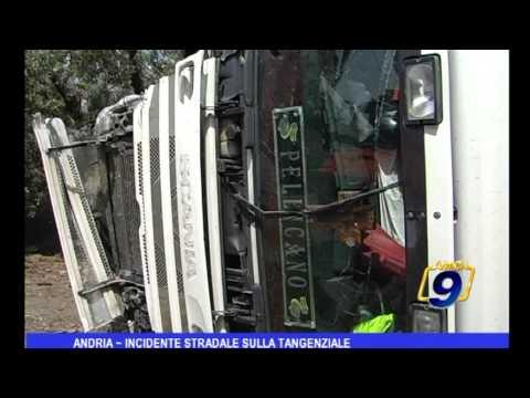 Andria | Incidente stradale sulla tangenziale