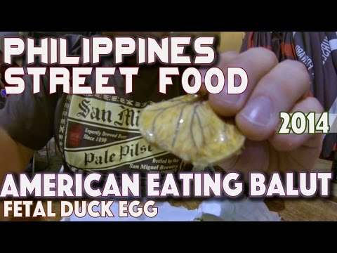 Foreigner Eating Balut in the Philippines | Asia Travel VLOG