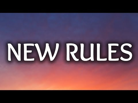 Dua Lipa ‒ New Rules (Lyrics) ????