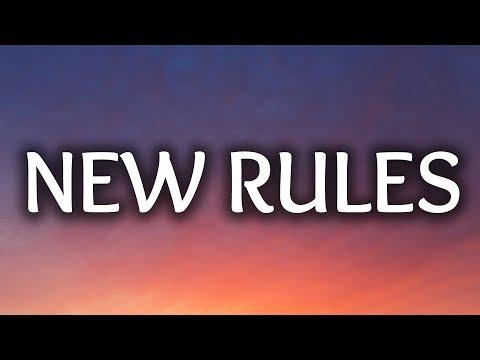 Dua Lipa ‒ New Rules (Lyrics) ????