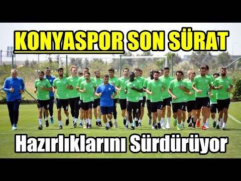 2018-2019 Sezonu Hazırlık 2 | Bolu Kampı Konyaspor