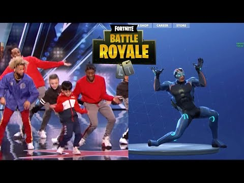 Fortnite Viral Dance On America's Got Talent 2018