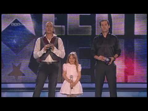 7 year old Lina - WINNER of Slovenia got Talent part 4