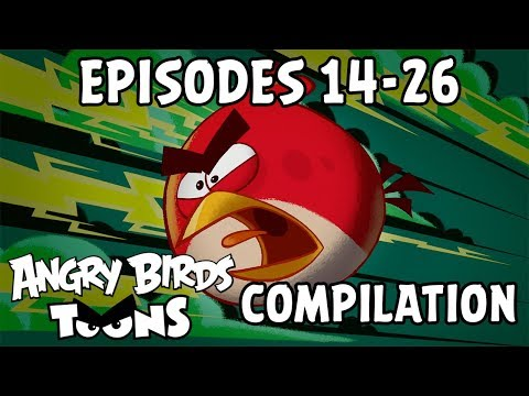 Angry Birds Toons Compilation | Season 1 Mashup | Ep14-26