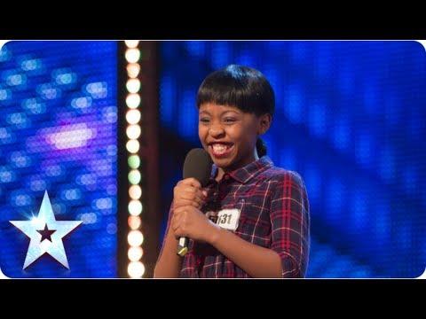 Asanda Jezile the 11yr old diva sings 'Diamonds' - Week 3 Auditions | Britain's Got Talent 2013
