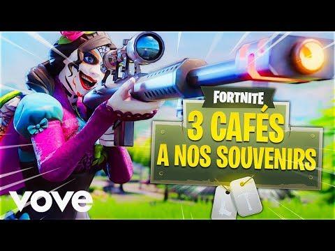 Trois Cafés Gourmands - À nos souvenirs [ PARODIE FORTNITE ]