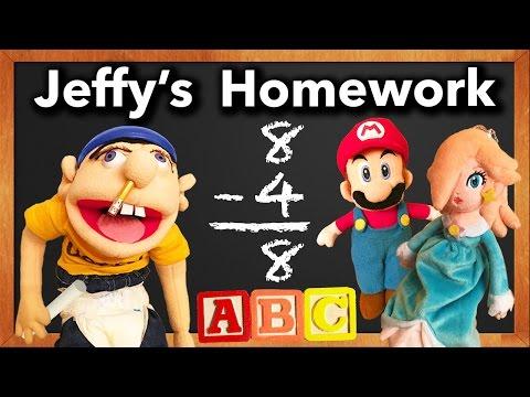 SML Movie: Jeffy's Homework!
