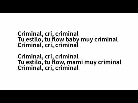 Natti Natasha Ft Ozuna - Criminal LETRA