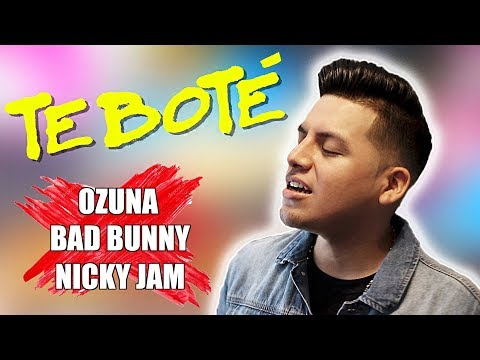 Te Bote Remix - Bad Bunny, Ozuna, Nicky Jam (Letra Lyrics Ingles English)