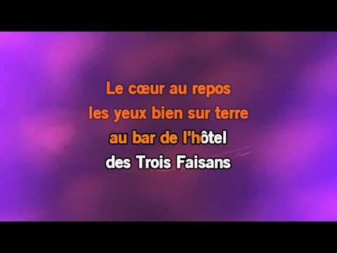 Karaoké Les Bourgeois - Jacques Brel *