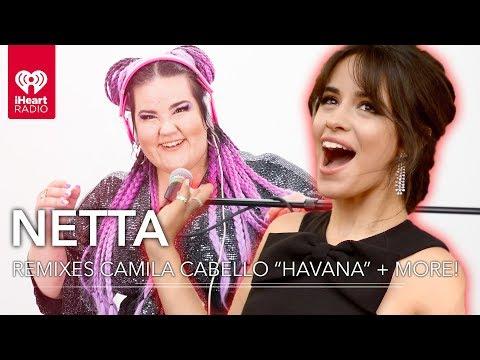 "Camila Cabello ""Havana"" + More Remixed By Netta!   iHeartRadio Party Wheel"