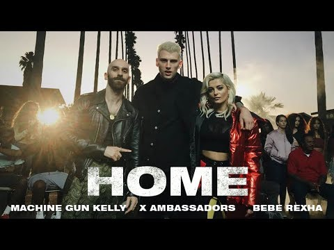Machine Gun Kelly, X Ambassadors & Bebe Rexha - Home (from Bright: The Album) [Music Video]