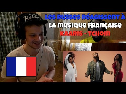 RUSSIANS REACT TO FRENCH TRAP | Kaaris - Tchoin | Reaction to French Trap