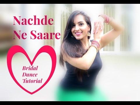 NACHDE NE SAARE lEASY BOLLYWOOD INDIAN WEDDING DANCE STEPS |DANCE TUTORIAL