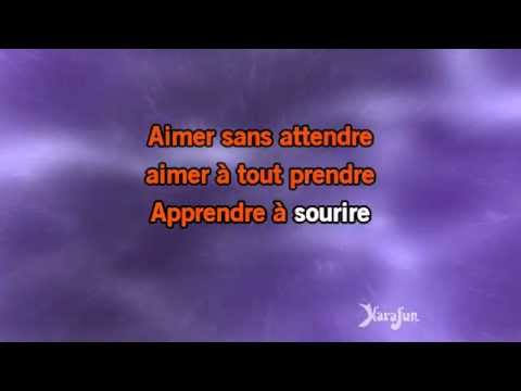 Karaoké Savoir aimer - Florent Pagny *