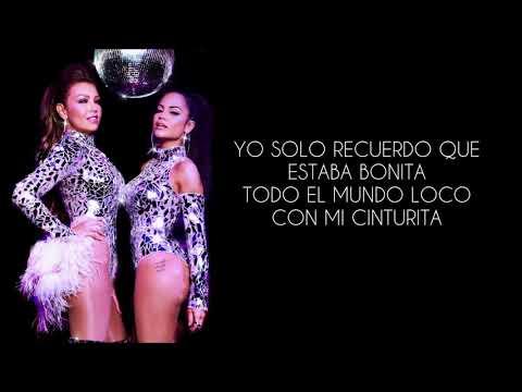 No Me Acuerdo - Thalía ft. Natti Natasha (Con Letra)