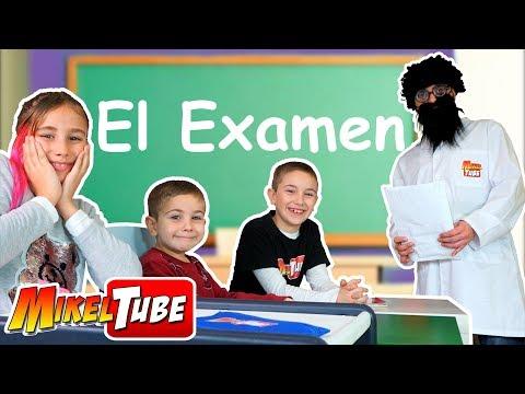 El Examen del Profesor NoVe en MikelTube