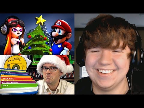 Reaction Monday #20 - SMG4: The XMAS Discovery + Lightspan Adventures (PS1) AVGN