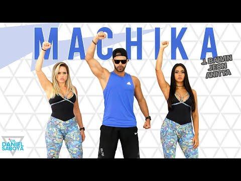 Machika - J. Balvin, Jeon, Anitta - Cia. Daniel Saboya (Coreografia)
