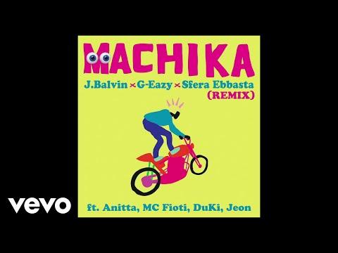 J. Balvin, G-Eazy, Sfera Ebbasta - Machika (Audio/Remix) ft. Anitta, MC Fioti, Duki, Jeon