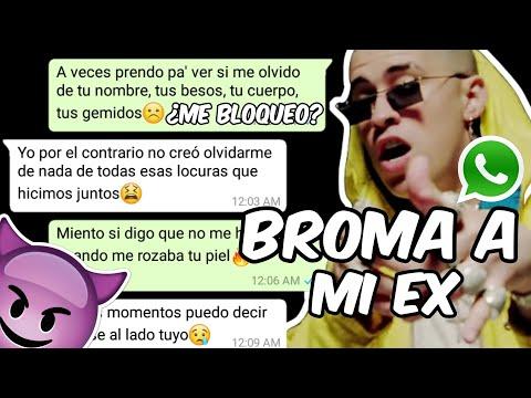 """BROMA a MI EX con LETRA DE """"Te Bote Remix"""" Bad Bunny, Nicky Jam, Ozuna, Casper, Nio García, Darell"""