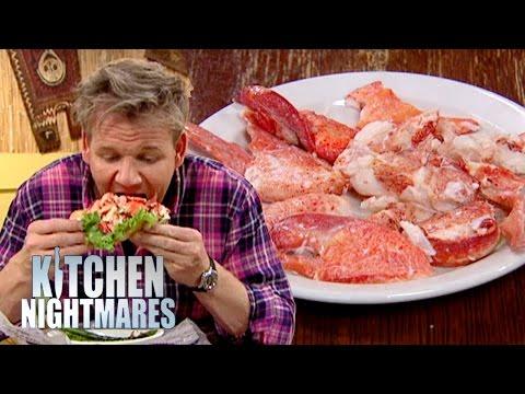 Gordon Served 'Too Much Lobster'!? - Kitchen Nightmares