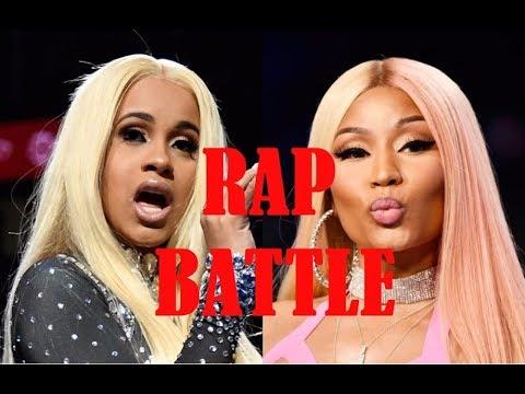 CARDI B vs NICKI MINAJ ~!!!RAP BATTLE!!!~